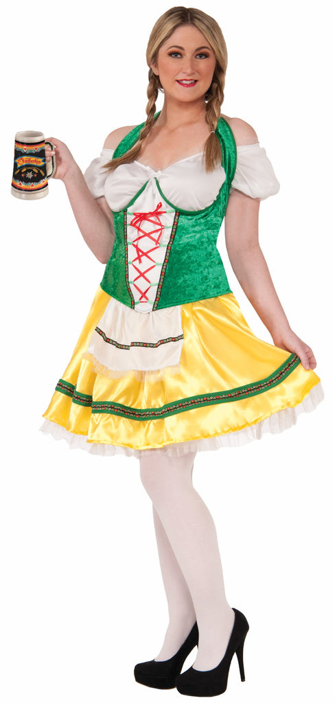 Women's Plus Sized Oktoberfest Sexy Maid - HalloweenCostumes4U.com - Adult Costumes