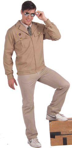 Mens World War II Fighter Jet Pilot Jacket - HalloweenCostumes4U.com - Adult Costumes