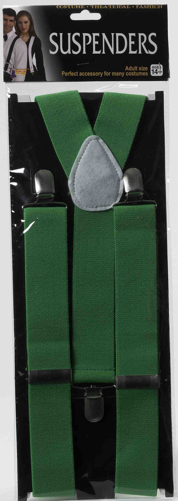 Suspenders-Green - HalloweenCostumes4U.com - Accessories