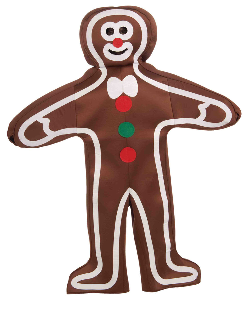 Gingerbread Man Costume Adult Christmas Outfit - HalloweenCostumes4U.com - Holidays