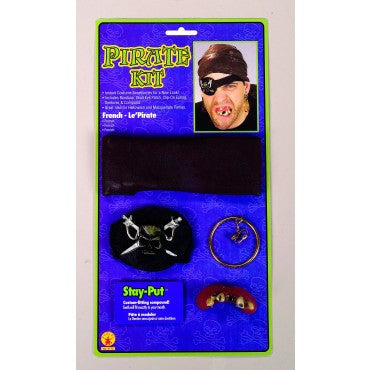 Pirate Kit - HalloweenCostumes4U.com - Accessories