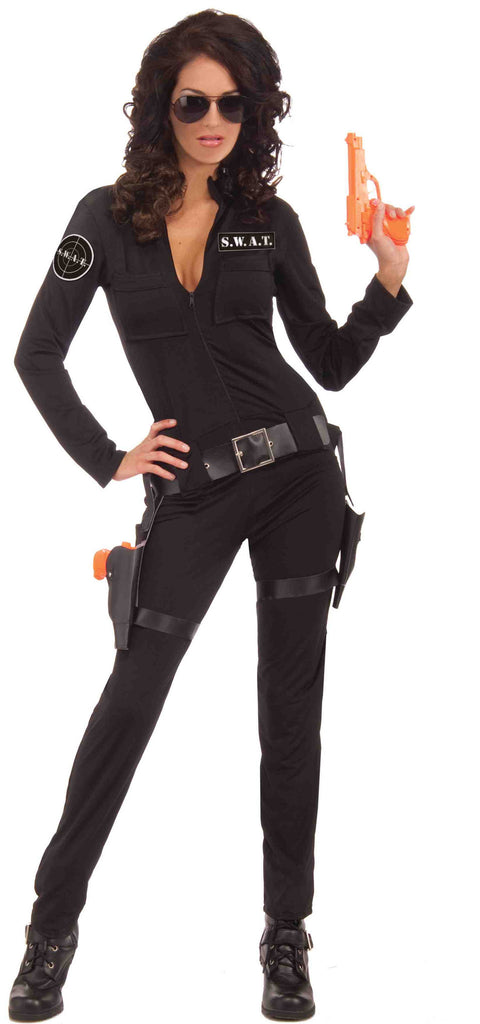 Womens Sexy SWAT Costume