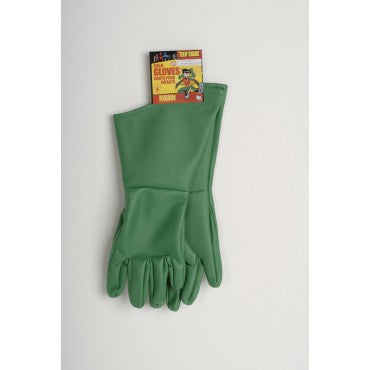 Kids Teen Titans Robin Gloves - HalloweenCostumes4U.com - Accessories