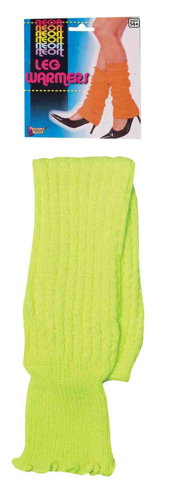 Neon Leg Warmers-Green - HalloweenCostumes4U.com - Accessories