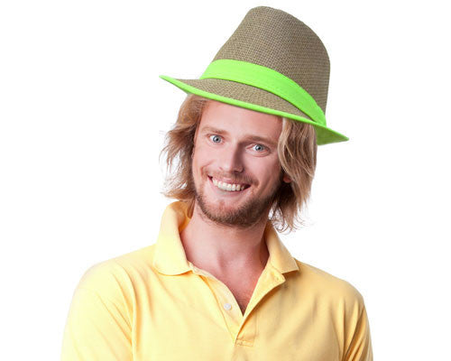 Woven Fedora Hat - HalloweenCostumes4U.com - Accessories