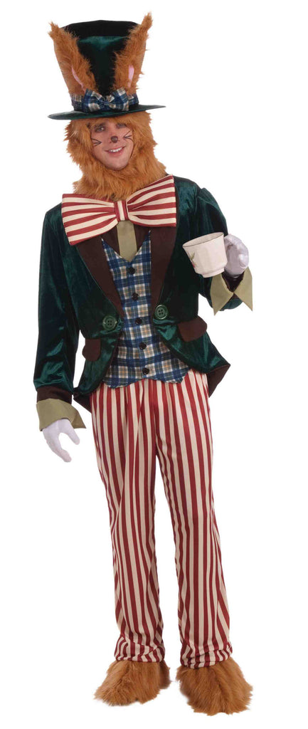 Wonderland March Hare Adult Costume - HalloweenCostumes4U.com - Adult Costumes
