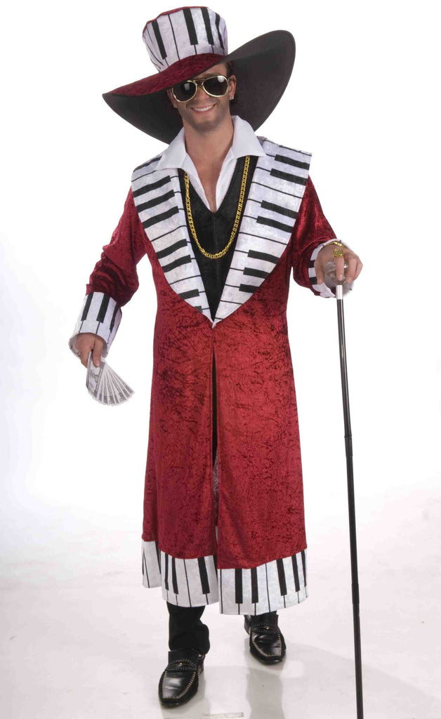 Men's Pimp Costumes Piano Playa Pimp - HalloweenCostumes4U.com - Adult Costumes