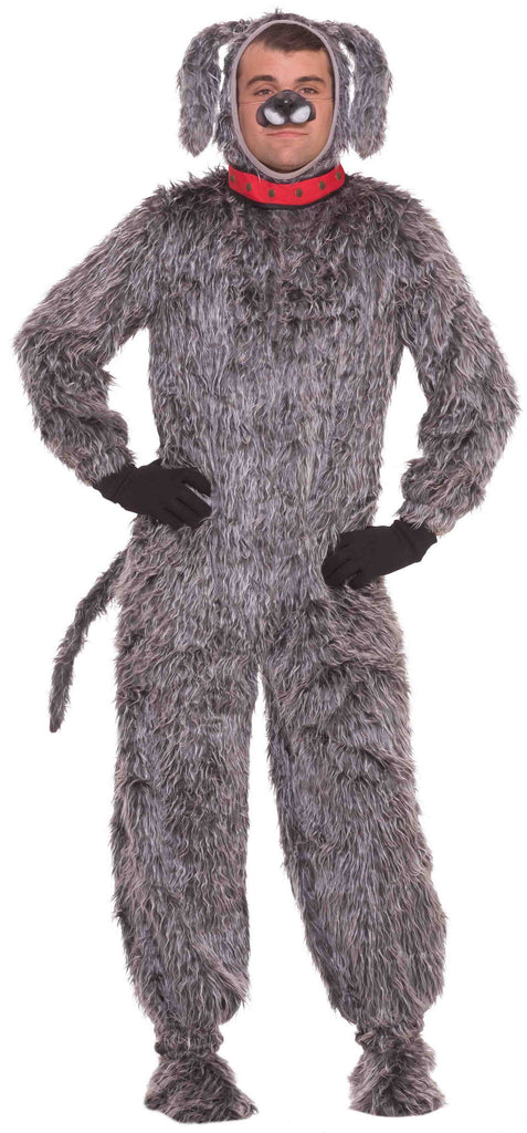 Scruffy Dog Costume Plush Mascot Outfit