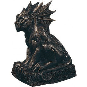 Bronze Gargoyle Decoration - HalloweenCostumes4U.com - Decorations