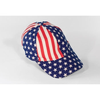 American Patriot Baseball Caps - HalloweenCostumes4U.com - Holidays