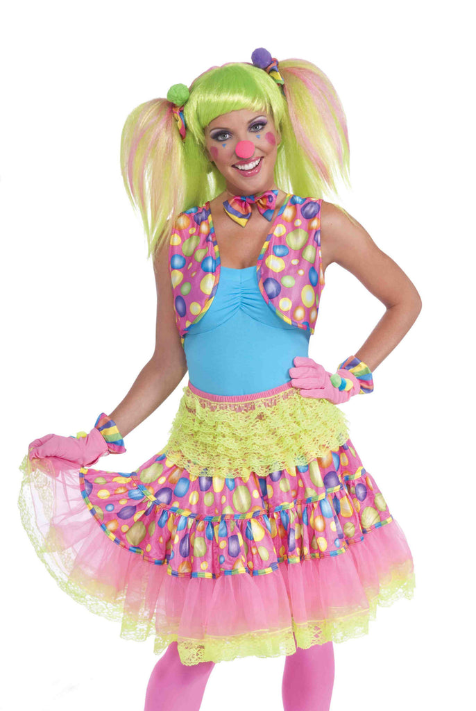 Female Clown Dot Vest - HalloweenCostumes4U.com - Adult Costumes