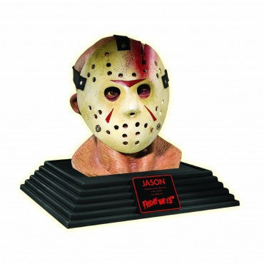 Collectors Edition Friday the 13th Jason Display Bust - HalloweenCostumes4U.com - Decorations