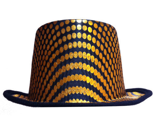 Squared Top Hat - Various Colors - HalloweenCostumes4U.com - Accessories - 2