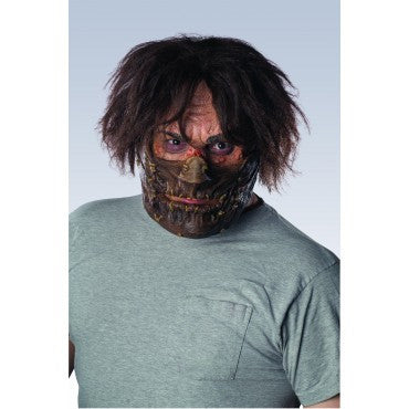 Leatherface Muzzled Mask - HalloweenCostumes4U.com - Accessories