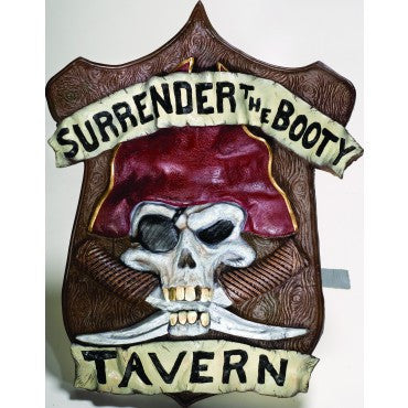 Pirate Tavern Wall Plaque - HalloweenCostumes4U.com - Decorations