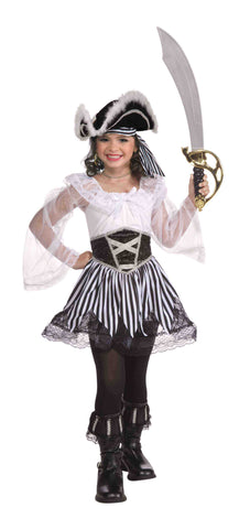 Designer Pirate Lass Halloween Costume for Girls - HalloweenCostumes4U.com - Kids Costumes