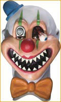 Saw-Tooth Clown Mask - HalloweenCostumes4U.com - Accessories
