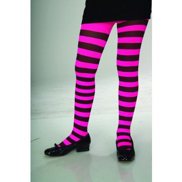 Kids Striped Tights - Various Colors - HalloweenCostumes4U.com - Accessories - 3