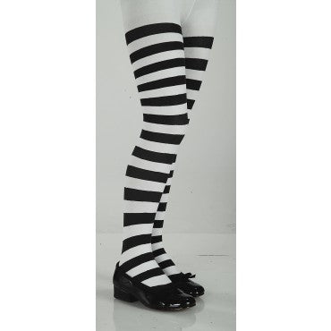 Kids Striped Tights - Various Colors - HalloweenCostumes4U.com - Accessories - 4