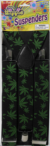 Hippie Halloween Costume Suspenders - HalloweenCostumes4U.com - Accessories