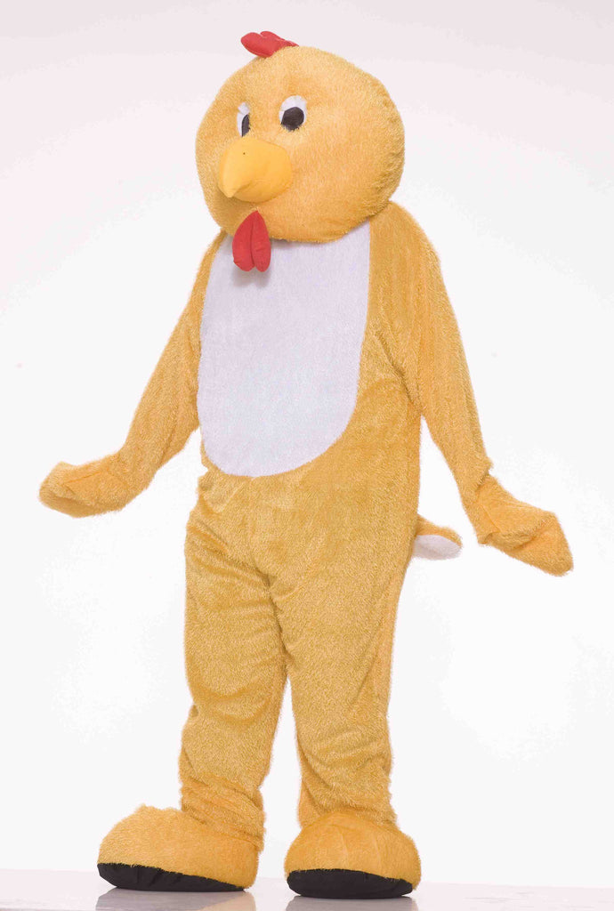 Deluxe Chicken Costume Plush Chicken Suit - HalloweenCostumes4U.com - Costumes