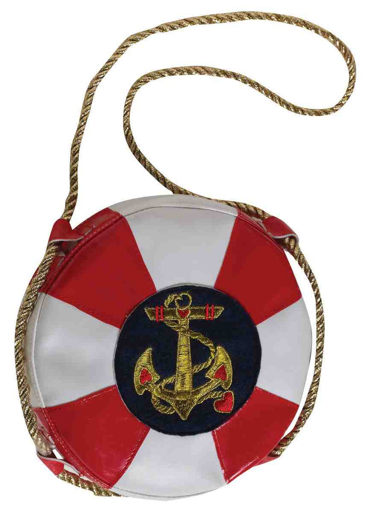 Lady In The Navy Hand Bag