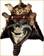 Scary Samurai Skull Mask - HalloweenCostumes4U.com - Accessories