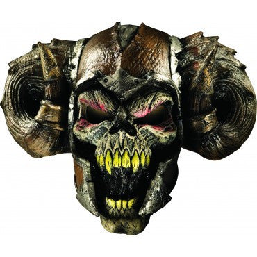 Demon Warrior Mask - HalloweenCostumes4U.com - Accessories