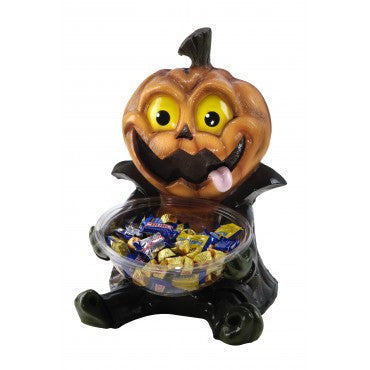 Silly Pumpkin Candy Bowl - HalloweenCostumes4U.com - Decorations