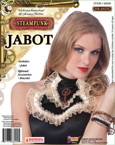 Steampunk Jabot W/Gear - HalloweenCostumes4U.com - Accessories