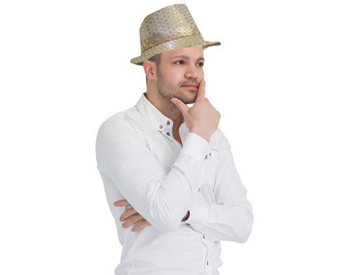 LED Lighted Fedora Hat - Various Colors - HalloweenCostumes4U.com - Accessories - 2