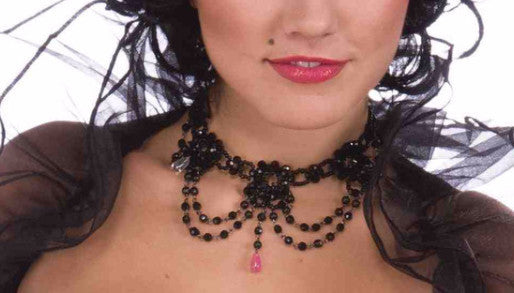 Burlesque Choker - HalloweenCostumes4U.com - Accessories