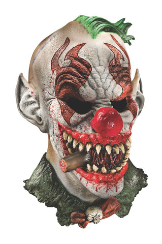 Crazed Fonzo Clown Mask