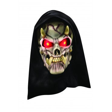 Horned Demon Mask - HalloweenCostumes4U.com - Accessories