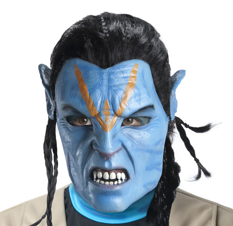 Avatar Deluxe Jake Sully Mask - HalloweenCostumes4U.com - Accessories