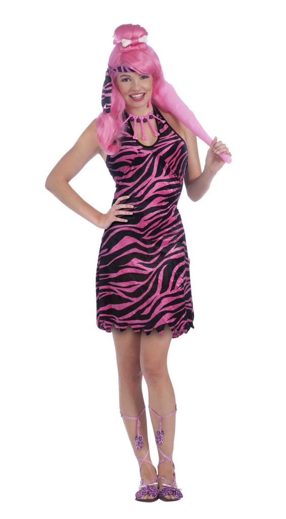 Prehistoric Princess Pink Costume Wigs - HalloweenCostumes4U.com - Accessories