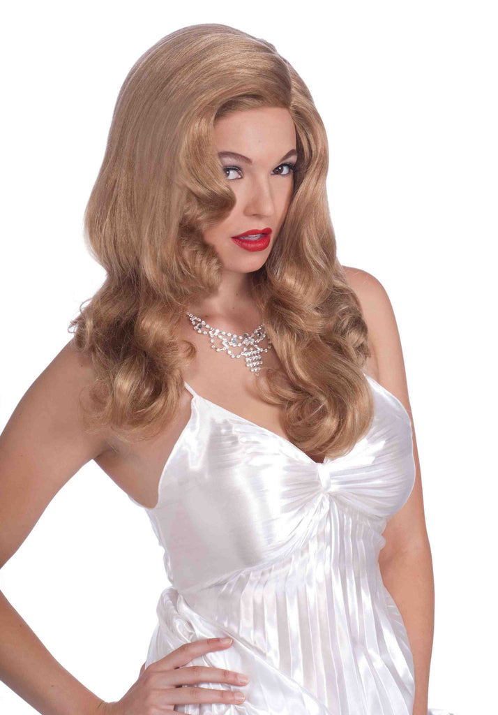Movie Star Siren Sexy Costume Wig - HalloweenCostumes4U.com - Accessories