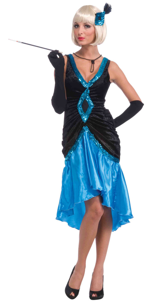 Roaring 20's Costumes Betty Blue Formal Flapper