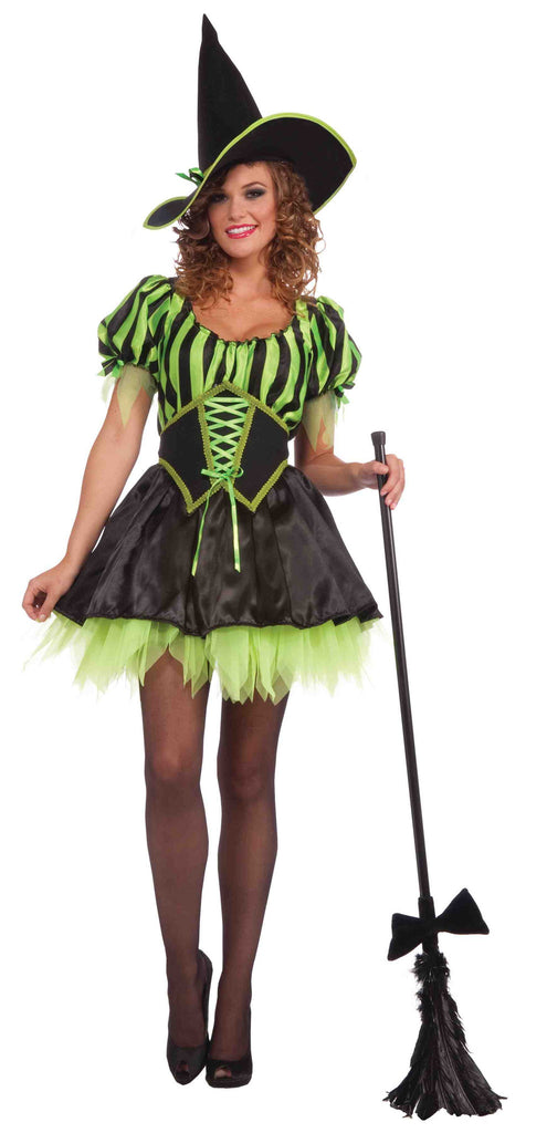 Witch Costumes Emeralda Witch Woman - HalloweenCostumes4U.com - Adult Costumes