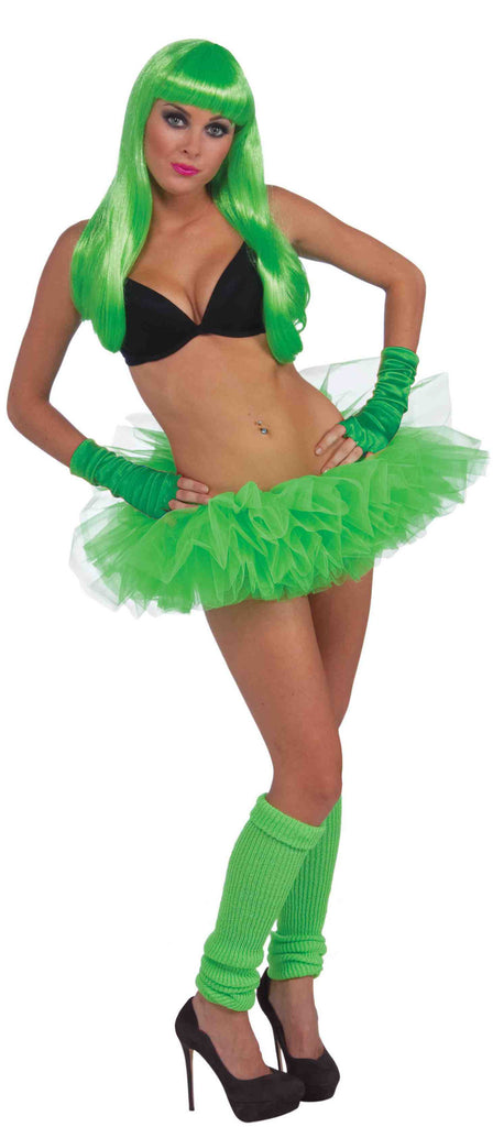 Neon Tutu - Green - HalloweenCostumes4U.com - Accessories