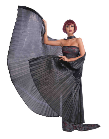 Deluxe Theatrical Costume Wings Black - HalloweenCostumes4U.com - Accessories