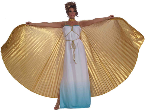Deluxe Theatrical Costume Wings Gold - HalloweenCostumes4U.com - Accessories