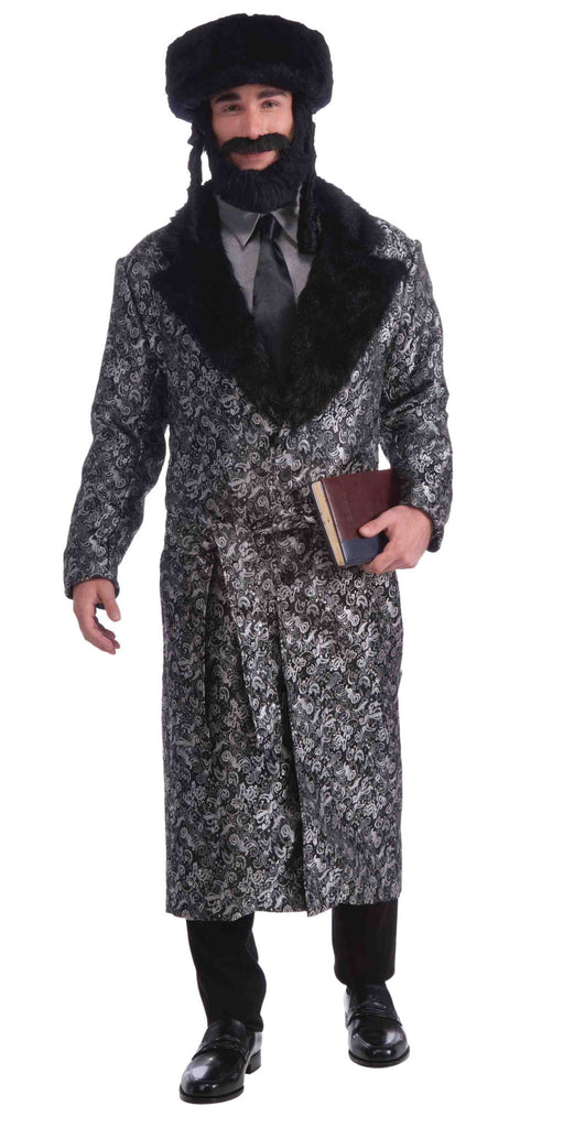 Rabbi Costume Silver Rabbi Man Costume - HalloweenCostumes4U.com - Adult Costumes