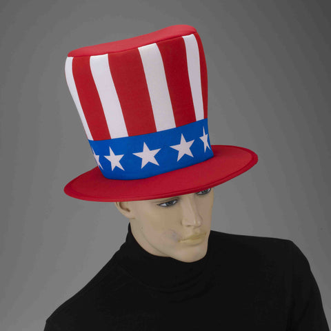 Uncle Sam Top Hat - HalloweenCostumes4U.com - Holidays