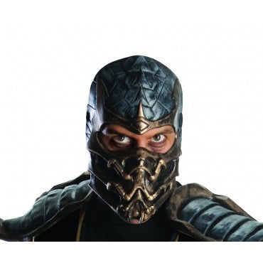 Mortal Kombat Scorpion Mask - HalloweenCostumes4U.com - Accessories