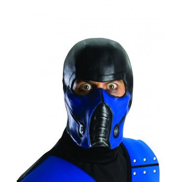 Mortal Kombat Sub-Zero Mask - HalloweenCostumes4U.com - Accessories