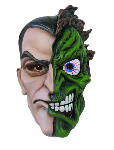 Batman Deluxe Two Face Mask - HalloweenCostumes4U.com - Accessories