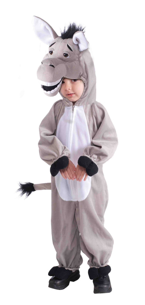 Donkey Costume Cuddly Plush Child Donkey Set - HalloweenCostumes4U.com - Kids Costumes