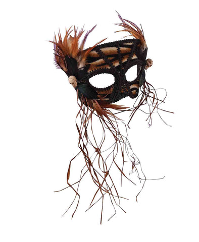 Halloween Cavewoman Eye Mask - HalloweenCostumes4U.com - Accessories