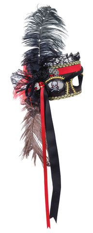 Deluxe Pirate Masquerade Eye Mask - HalloweenCostumes4U.com - Accessories